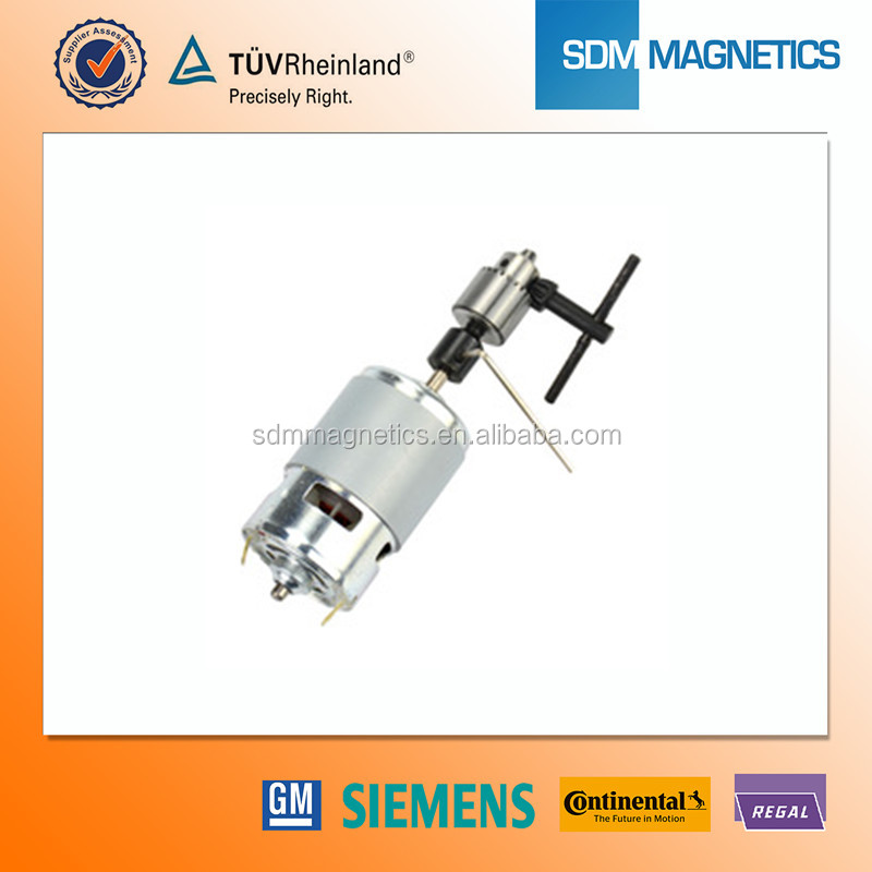 ISO/TS 16949 Certificated Neodymium Electric Tool Motor Magnet for Sale