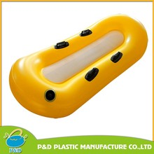 Eight Shape Double Seat Inflatable Snow Sled Tube