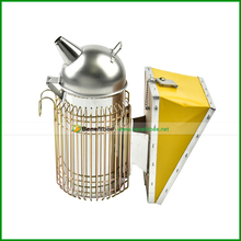hot sale ss 2Cr13 manual bee smoker for beekeeping