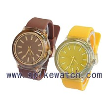 Most favorable price silicone material waterproof unisex watch custom logo