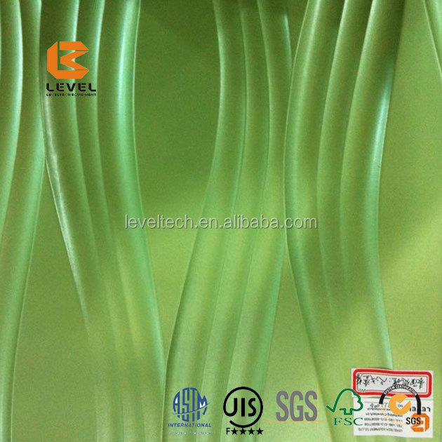 Supply Standand Fasteners Good Quality And Price Wave Board 3D MDF Board MDF Wall Paneling