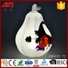 2017 hot selling wholesale led glass Easter pumpkin crafts