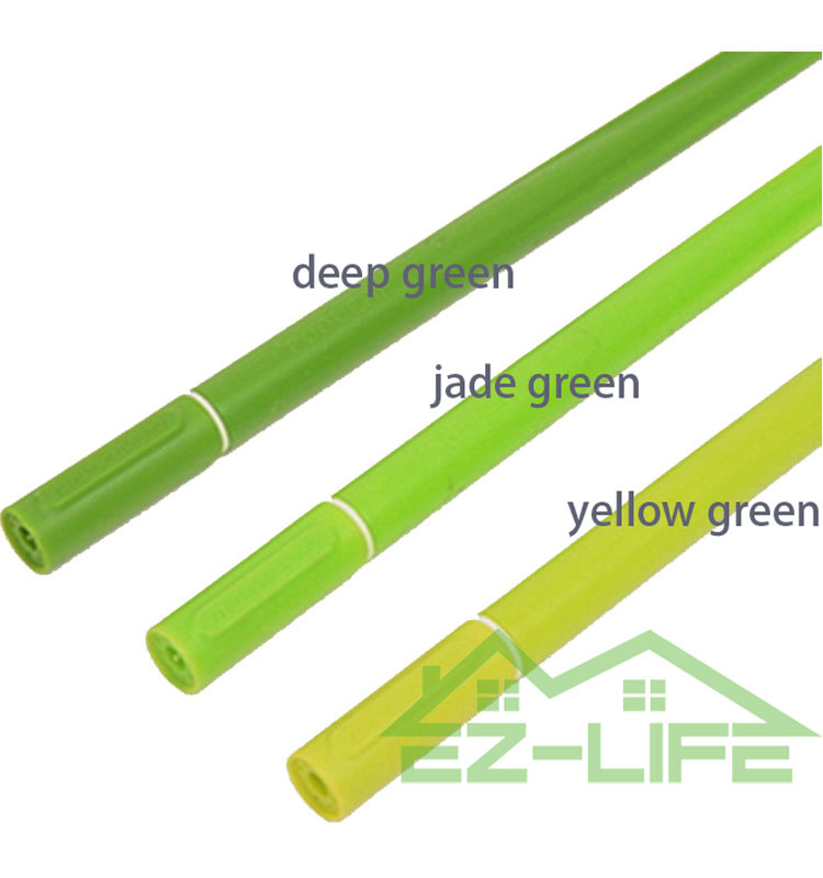 2017 New design BEST green soft original cheap leaf silicone pooleaf grass pen