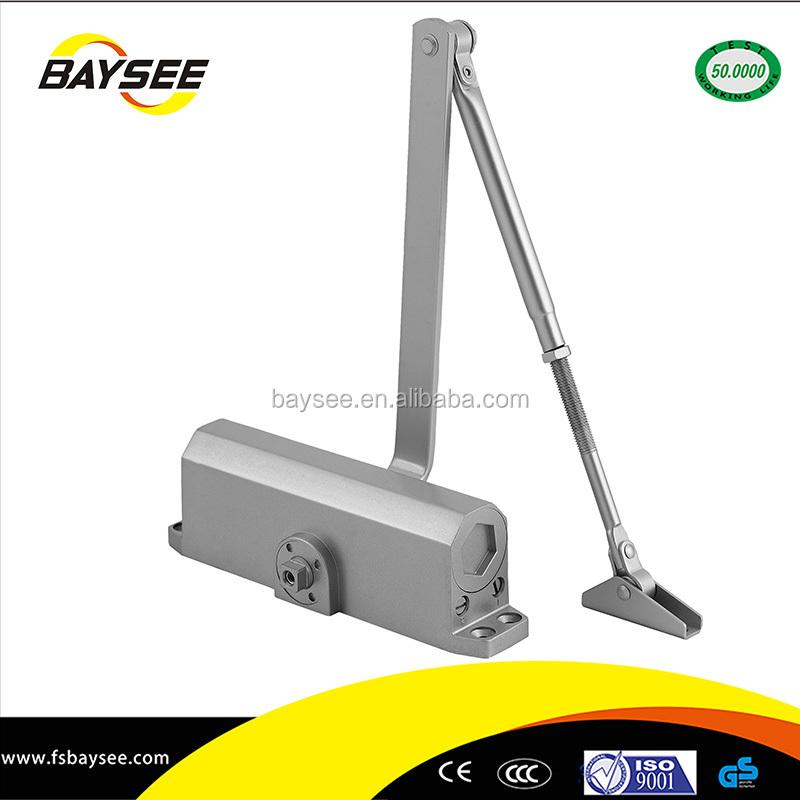 electric adjust hydraulic door closer piston