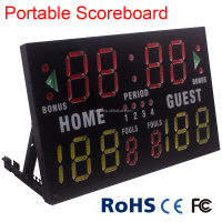 Alibaba China mini led display portable electronic scoreboard for multi-sports use