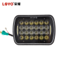 factory price 5x7 6x7 square led headlight accessories parts for jeep and truck cars