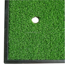 A60 artificial golf practice hitting mats golf driving hitting mat