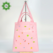 World Manufacture Women Canvas Bag Shoulder Pink Hand Canvas Sling Bag