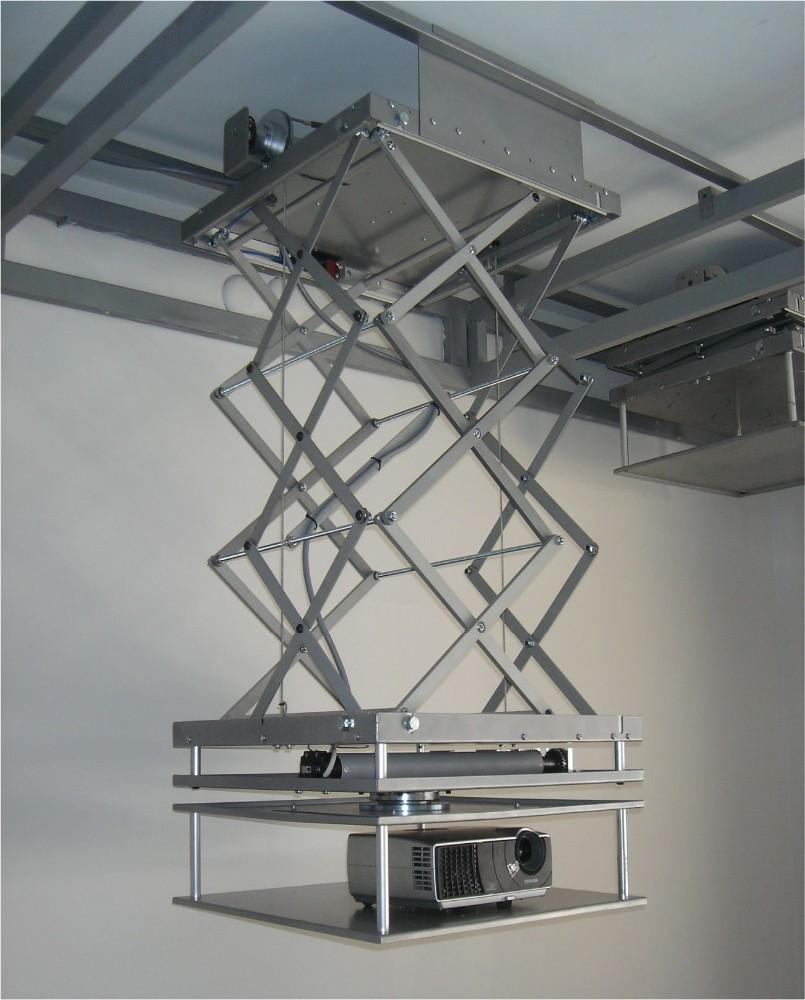 Motorized Projector Ceiling Mount 100cm Retractable