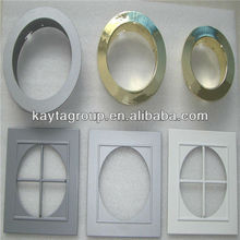 Ceiling led panel lights frames, ceiling light with surface treatment and high quality