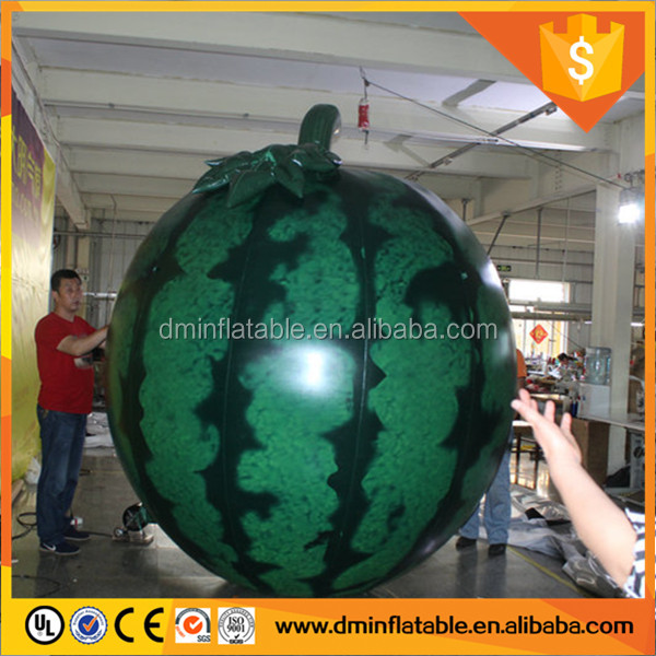 Promotion inflatable watermelon model inflatable fruit C-332