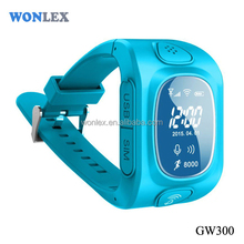 Wonlex GPS tracker for kids. gps kids watch .Child SOS WATCH