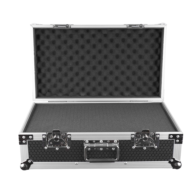 Heavy duty durable shockproof mold microphone abs aluminum flight case