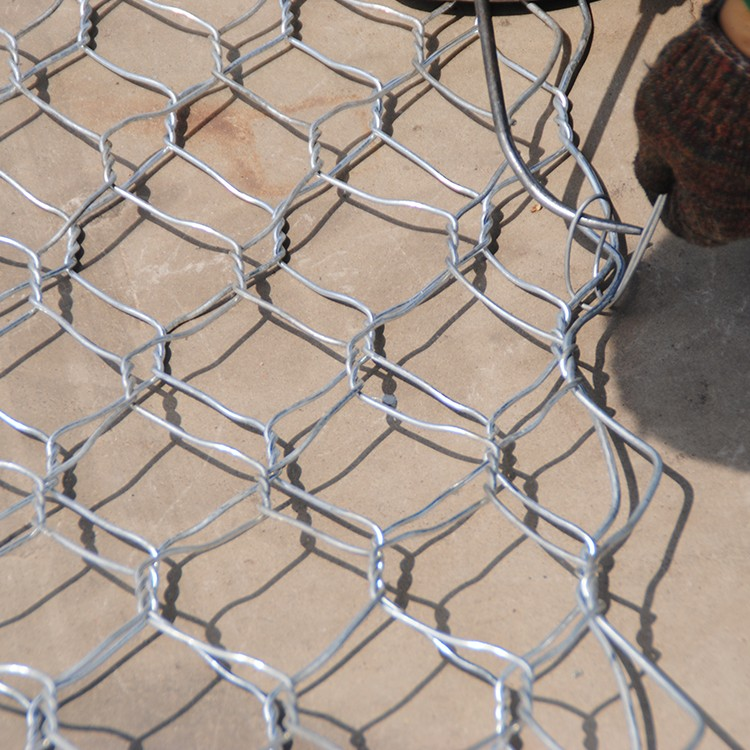 galvanized welded gabion box wire fencing / PVC Coated Hexagonal Mesh