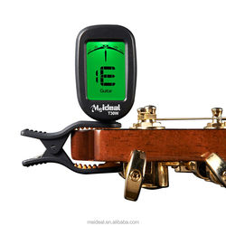Wholesale digital chromatic electric guitar tuner for acoustic bass violin ukulele parts T30W