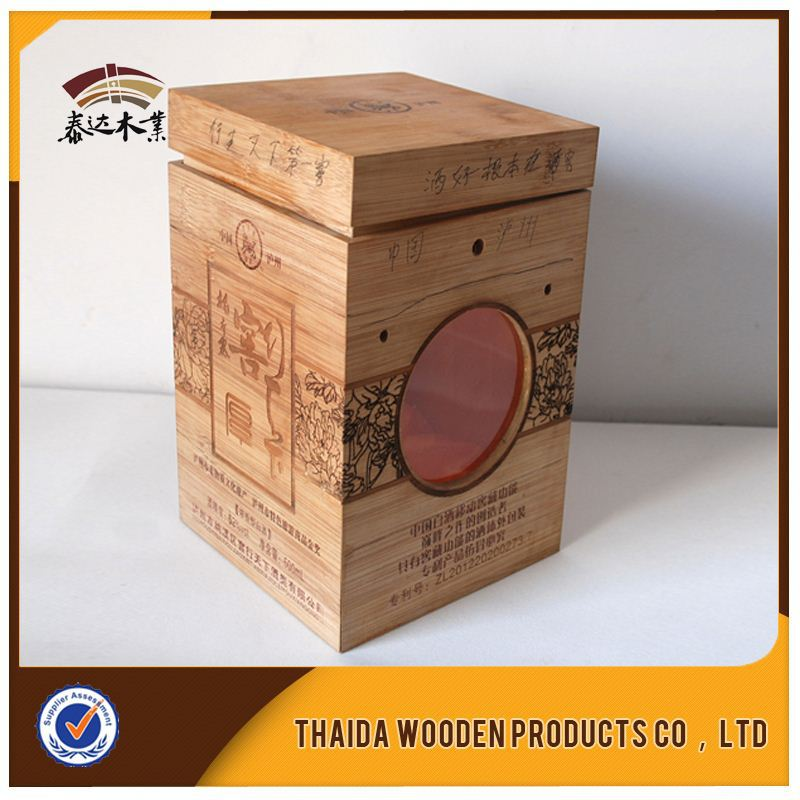 Cheap Wooden Wine Box Wood Fruit Crates /Gift Box