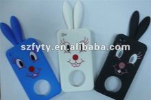 wholesale rabbit silica gel mobile phone cases silicone