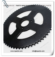 Outdoor Street Mini moto spare parts 64T rear sprocket for #25 chain