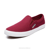 New Popular Fashion men new model canvas shoes
