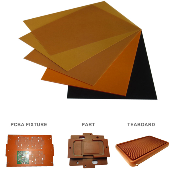 Paper Impregnanted Phenolic Resin Phenolic Sheet Bakelite Insulating Material Supplier