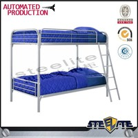 Bed Room Furniture Dormitory Metal Kids Bed,Steel Bunk Beds for Children