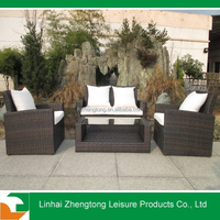 Modern China garden furniture rattan/wicker sets