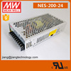200W 24V 8.8A Meanwell Power Supply NES-200-24 UL Listed Mean Well LED Driver