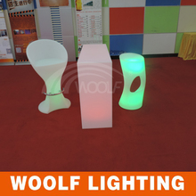 Hot sale commericial led lighting bar stool