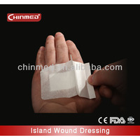 adhesive sterile wound patch