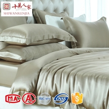 Luxury smooth bedding sets cheap comforter sets prices / silk bed sheet