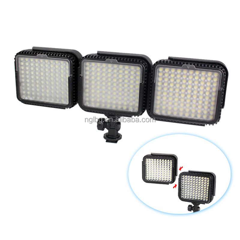 NanGuang CN-LUX1000 LED on camera light video light for camcorder DV camera