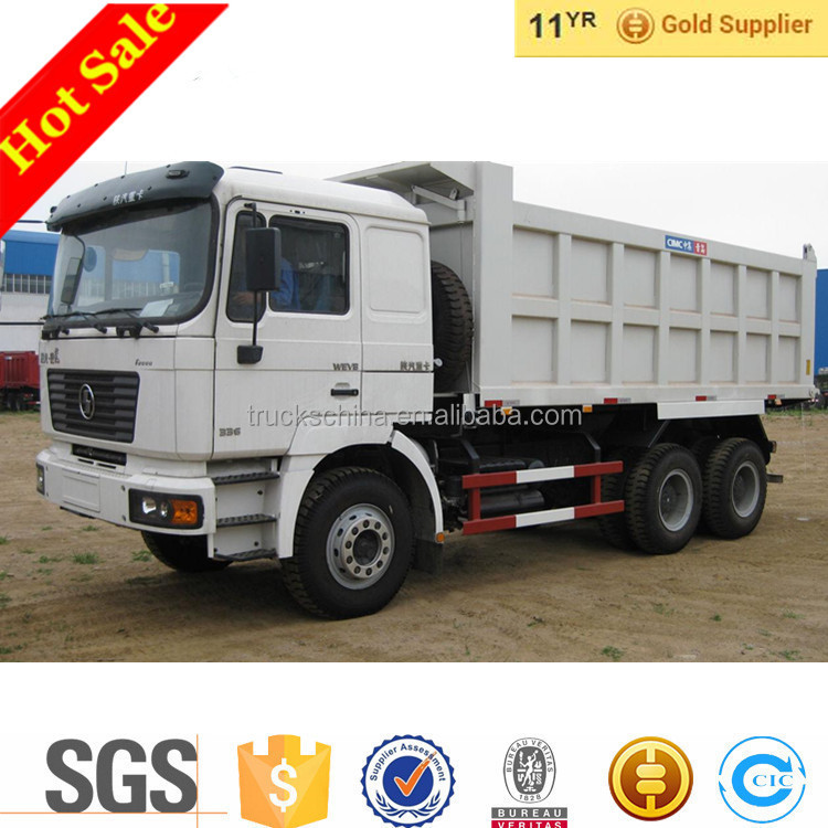 China 6x4 Shacman Dumps Truck Prices For Sand Tipper Trucks For Sale