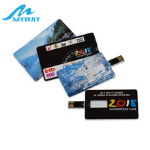 Credit Card USB Flash Drive USB Namecard With Custom Logo