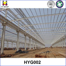 Prefabricated steel structure factory workshop building design