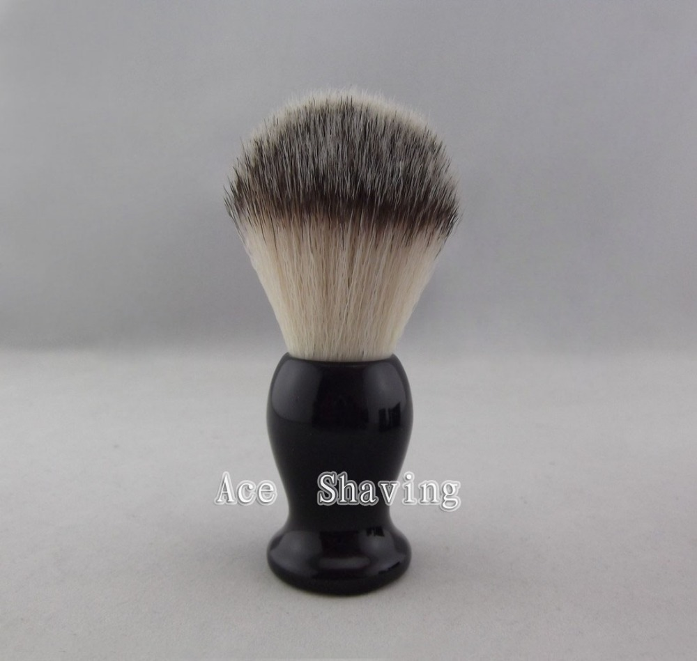 Synthetic Hair Shaving Brush Nylon Hair Knot Beard Brush
