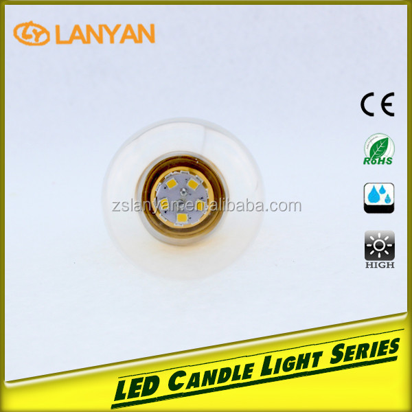 unique products market 6w 230v ac led lamp 3 pin plug 5w 7w led candle bulb in alibaba