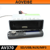 AOVEISE AV370 Good style car audio mp3 cd player adapter.car audio with detachable panel universal private model car usb player.
