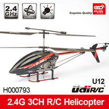 Unique 3-CH 2.4G Alloy Series RC Helicopter with gyro