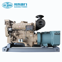 250kva marine diesel generator set with TOP brand marine engine