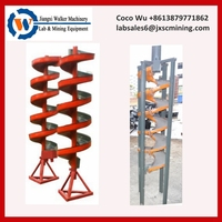 small gravity spiral chute for small scale mining