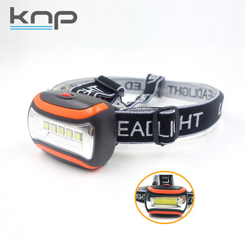 Super Bright COB/SMD Led Battery Adjustable Plastic Strap-High Quality Strong Torch Light Headlamp