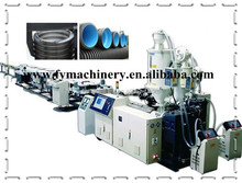 PVC Single Wall Corrugated Pipe Extrusion Line/Washing Machine Drain Pipes