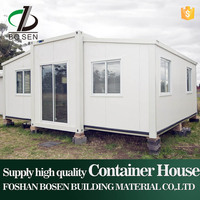 China standard 20' prefab container house plans