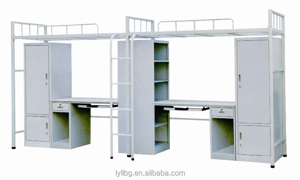 Factory Directly Double Bed Designs Combination Loft Bed