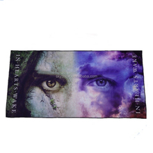 cheap souvenir Items custom made beach towel microfiber