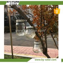New Arrival electric glass jar candle in factory price