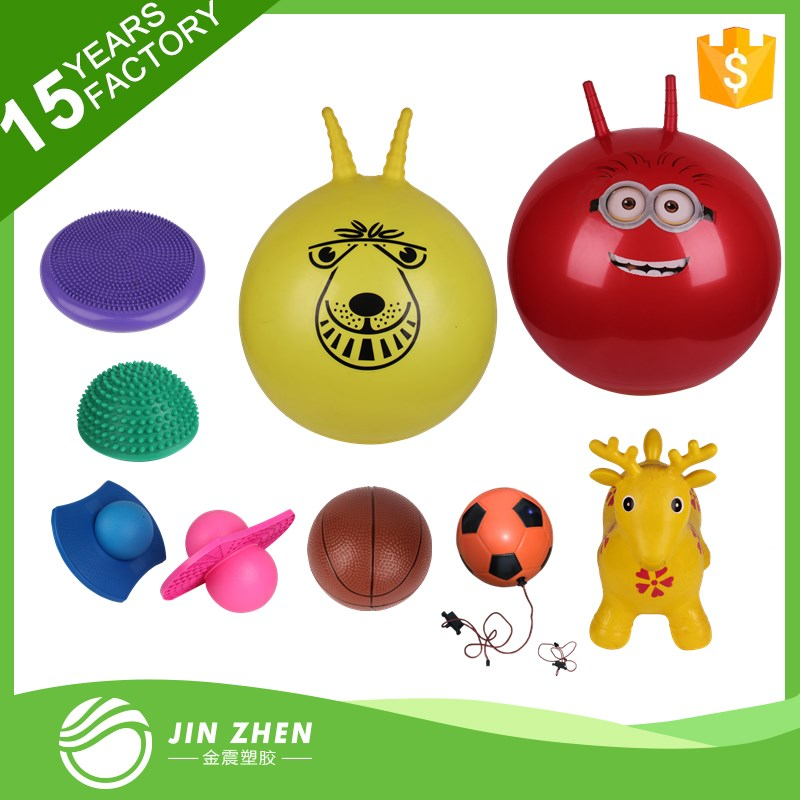 Round handle jumping ball Hopper Skip ball toy ball
