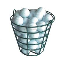 Green Quality Steel Golf Ball Basket