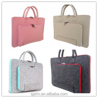 Fashion environmental felt laptop bag