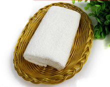 Shenzhen Hot For Restaurant Refreshing Wet Cotton Can Customized White Hand Towel